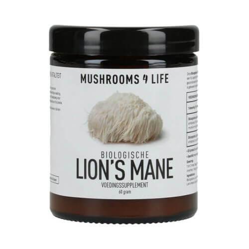 Lion's Mane poeder Mushrooms4life