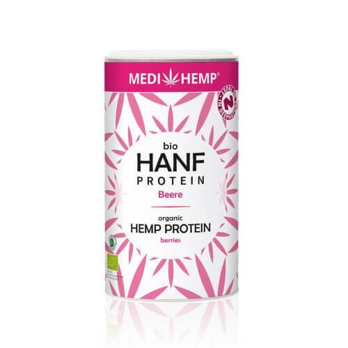 Hennep Proteïne Bio Framboos & Bosbes