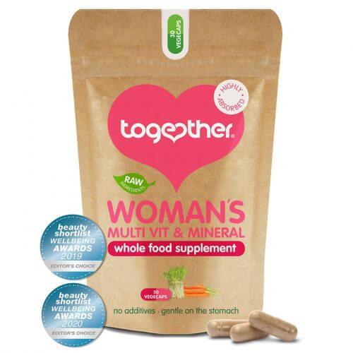 Vegan multi-vitamine vrouwen