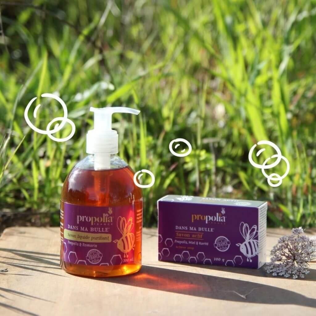 natuurlijke zeep propolis