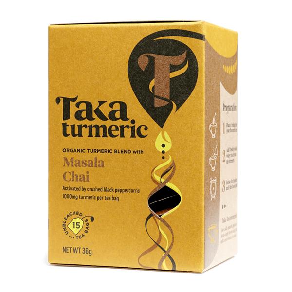 Biologische Kurkuma thee Massala Chai Taka Turmeric