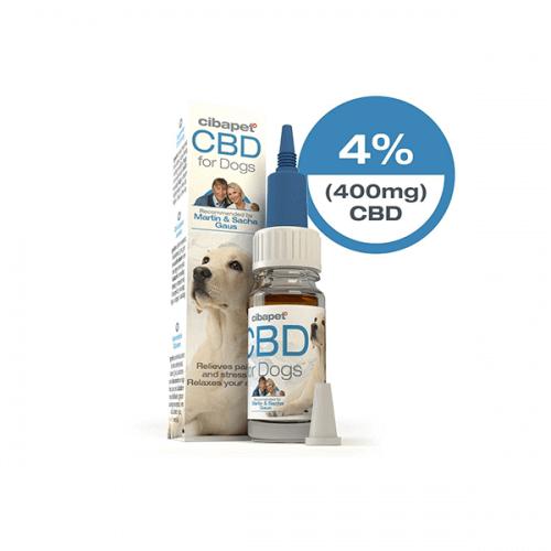 Cibapet CBD-olie 4% voor honden