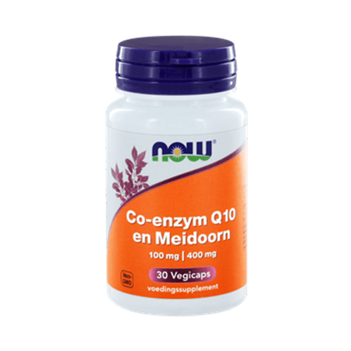 Co-enzym Q10 100 mg en Meidoorn 400 mg