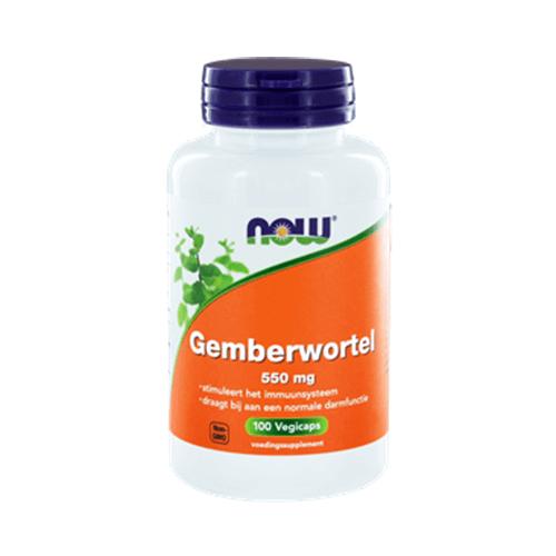 Gemberwortel 550 mg