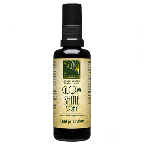 Glow and shine spray