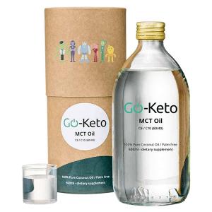 Go-Keto Premium Kokos MCT Olie 60-40