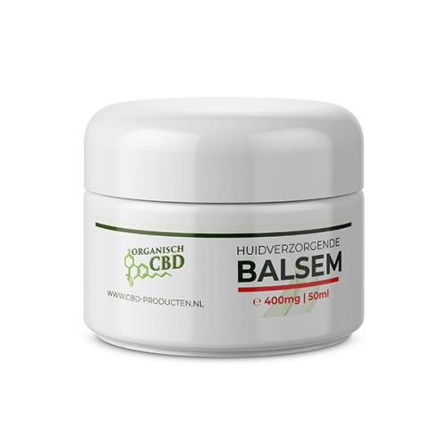 Huidverzorgende CBD balsem handgemaakt 400 mg CBD