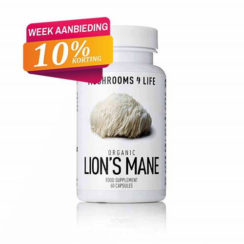 Lion's Mane capsules Mushrooms4life 10
