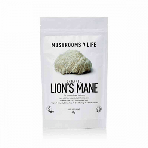 Lion's Mane poeder Mushrooms4life