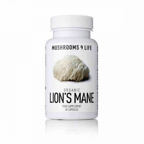 Lion's Mane capsules Mushrooms4life