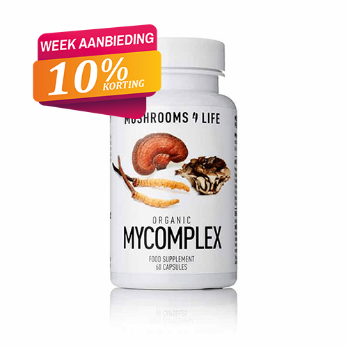 MyComplex capsules Mushrooms4life 10