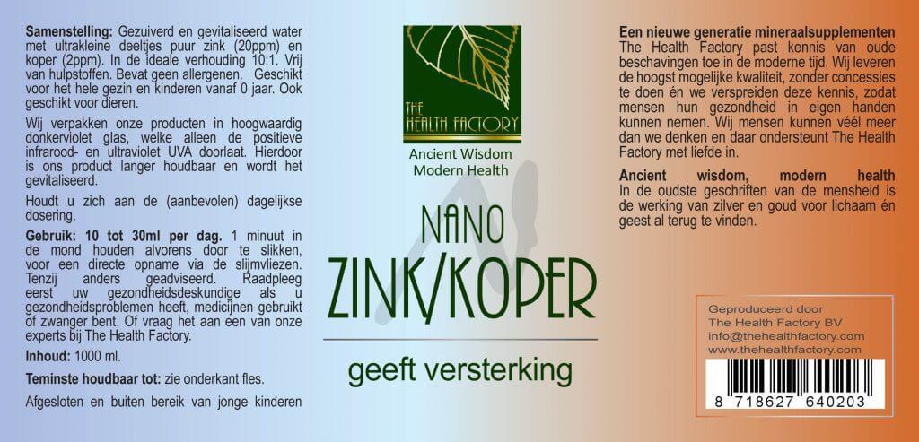 etiket zink koper