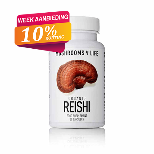 Reishi capsules Mushrooms4life 10