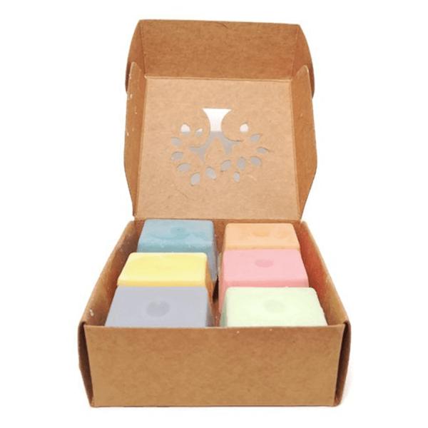 Waxmelt doosje met 12 verschillende waxmelts