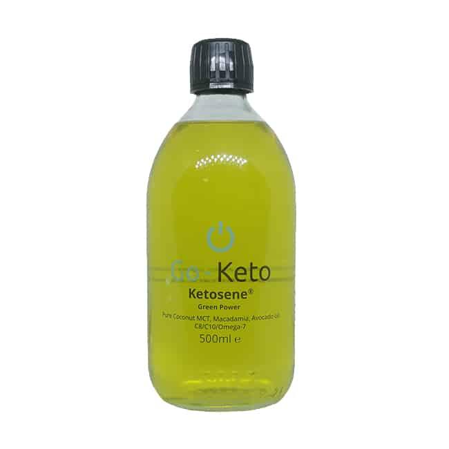 Go-Keto Ketosene groen MCT boost